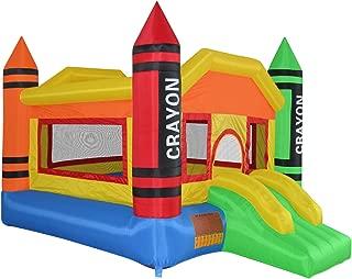 cloud 9 crayon bounce house