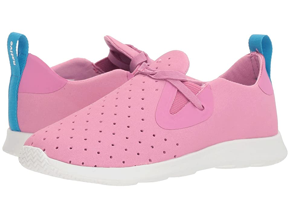 Native Kids Shoes Apollo Moc (Little Kid) (Malibu Pink/Shell White) Girls Shoes
