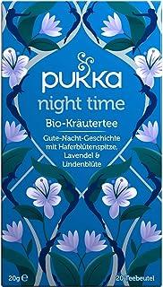 Pukka Bio-Tee Night Time 80 Teebeutel, 4er Pack 4 x 20 beutel