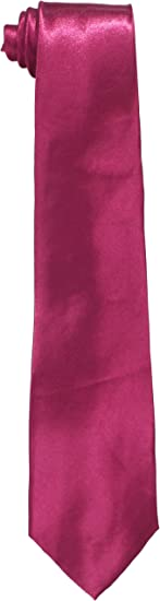 American Exchange Big Boys Solid Zipper Tie