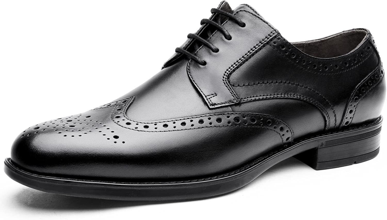 DESAI Mens Brogues Formal shoes Lace Up Derby
