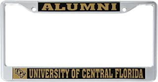 Desert Cactus University of Central Florida Alumni Metal License Plate Frame for Front Back of Car Officially Licensed UCF Knights (Alumni)
