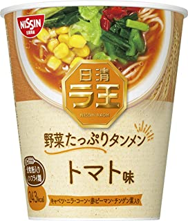 日清 ラ王 野菜たっぷりタンメン トマト味 63g ×12個