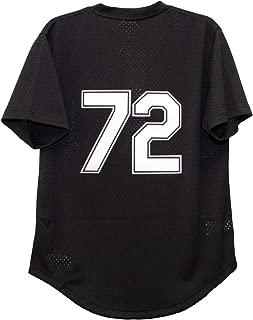 Mitchell & Ness Carlton Fisk Chicago White Sox Men's Black Batting Practice Jersey
