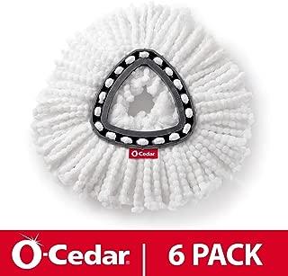 O-Cedar EasyWring Spin Mop Refill (Pack of 6)