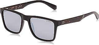 Guess GU6928 02C 56 Montures de lunettes, Noir (Nero Opaco/Fumo Specchiato), Mixte Adulte