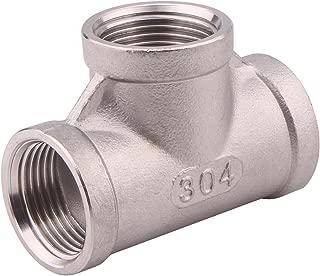stainless steel tee valve