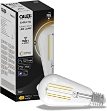Calex Smart Home - LED Filament Clear Rustic-lamp ST64 E27 220-240V 7W 806lm 1800-3000K