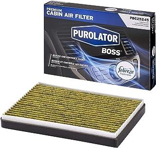 Purolator PBC25245 PurolatorBOSS Premium Cabin Air Filter with Febreze Freshness