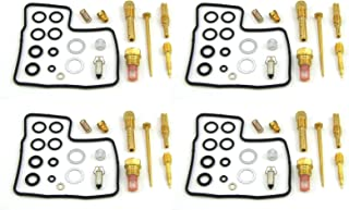 Damineding 4 X Carburetor Carb Repair Rebuild Kit 84-87 GL1200 Goldwing 1200 Aspencade Interstate