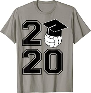 FUN CLASS OF 2020 SENIOR VOLLEYBALL GRADUATION GIFT SHIRT