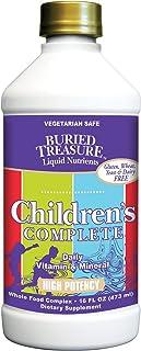 Buried Treasure Children's Complete Liquid Daily Multi Vitamin, Mineral and Herbal Formula 16 oz