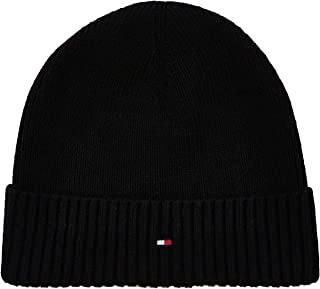 Tommy Hilfiger Beanie Hat for Men, Free Size
