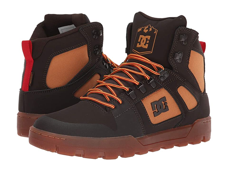 DC Pure High-Top WR Boot (Chocolate Brown) Men