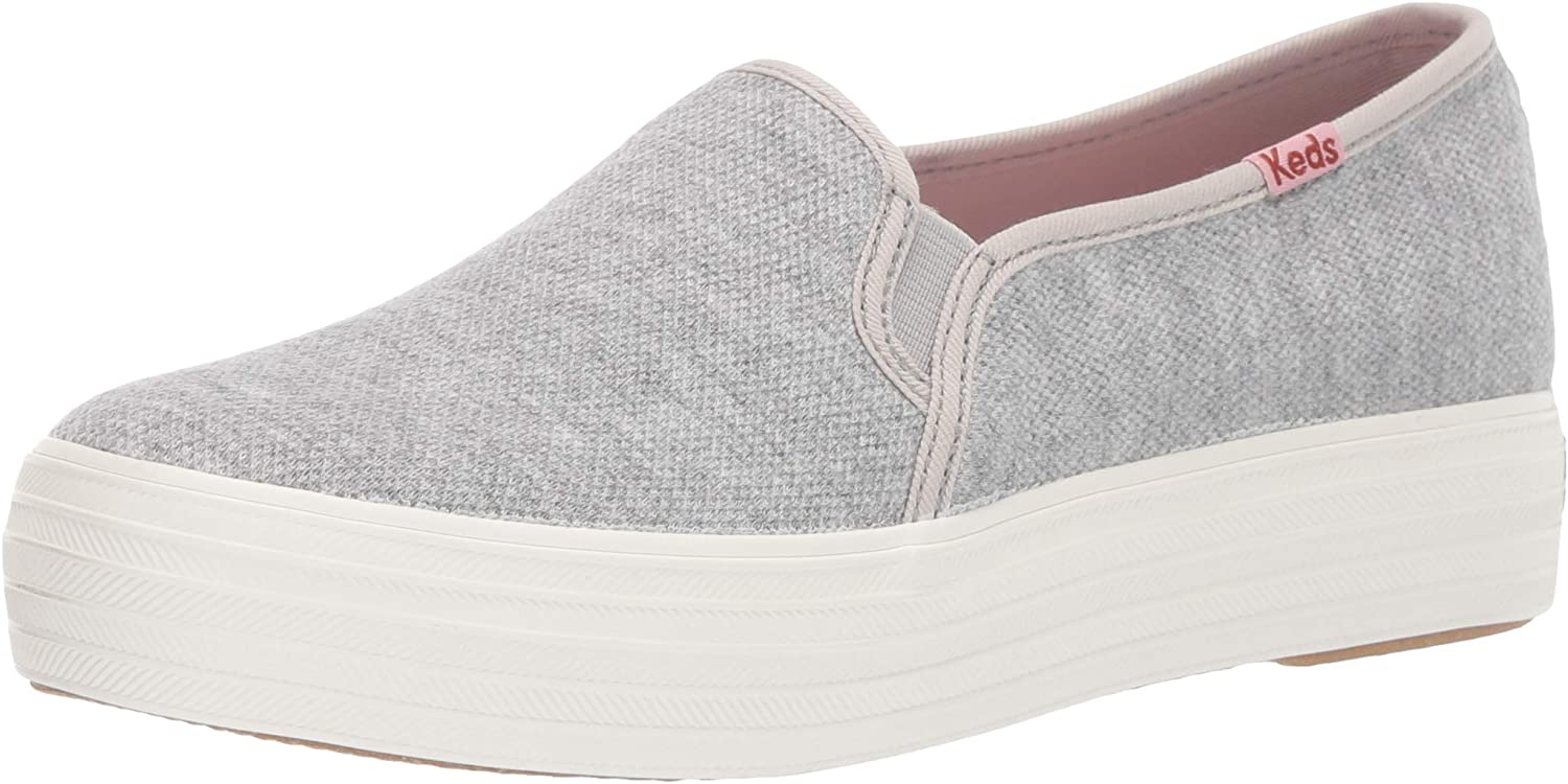 Keds Womens Triple Decker Pique Sneakers
