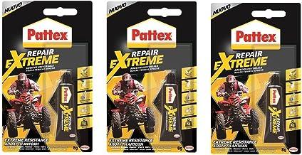 3 x Pattex Henkel Multi Purpose Transparante Reparatie EXTREME Gel Lijm 8g