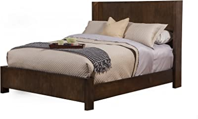 Alpine Furniture Austin Shelter Panel Bed, Standard King