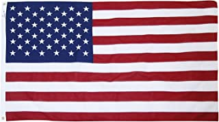 Valley Forge Brand American Flag 5x9.5ft Cotton by Valley Forge