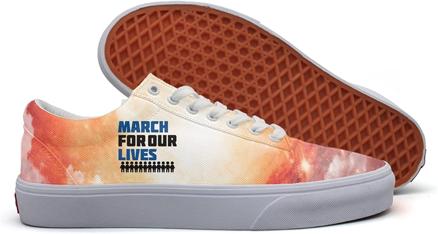 March for our lives accessories Women Fashion Plimsolls Women