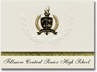 Signature Announcements Fillmore Central Senior High School (Harmony, MN) Graduation Announcements, Presidential Basic Pac...