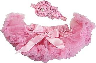 Kirei Sui Baby Light Pink Pettiskirt & Flower Headband Set