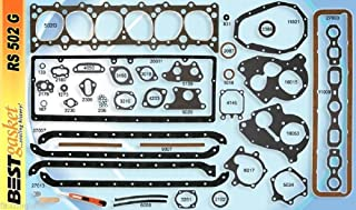 Chevy 216 235 Full Engine Gasket Set BEST 1937-53* COPPER Head+Manifold+Oil Pan stock