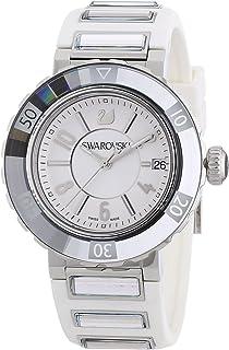 Swarovski - Octea Sport 999978 - Reloj de Mujer de Cuarzo, Correa de Caucho Color Blanco