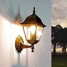 Rilevatore di movimento vie persone esterne illuminazione bianco//oro GIARDINO CORTILE INGRESSO LAMPADE