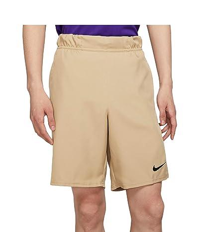 Nike Nike Court Flex Victory Shorts 9 (Parachute Beige/Black) Men