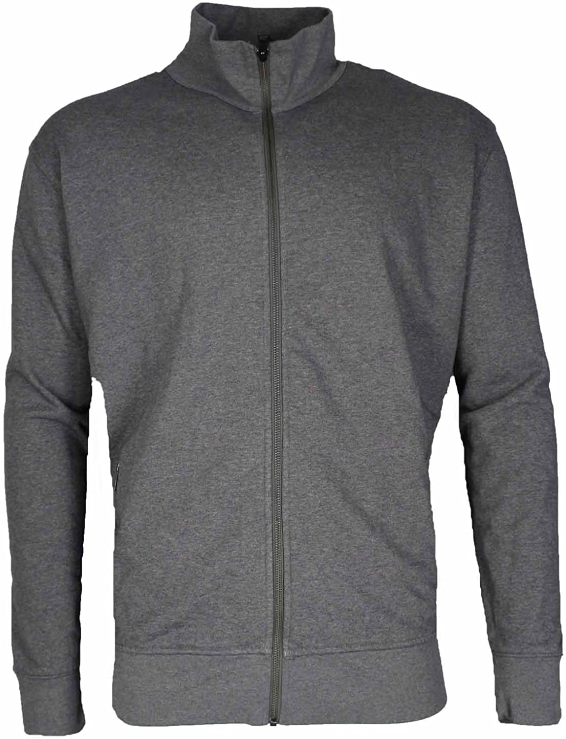 1fdb273e64639 Kirkland Kirkland Kirkland Signature Men's Full Zip Mock Neck Sweatshirt  cf4ce8
