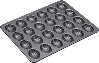Masterclass Non-stick Twenty-four Hole Mini Madeleine Pan 27x21cm, Display Boxed