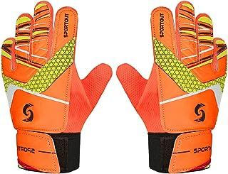 Sportout Kids Goalkeeper Gloves, Soccer Gloves with...
