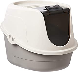 AmazonBasics No-Mess Hooded Cat Litter Box (Various Sizes)