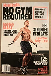 Men's Health No Gym Required Stronger In 30 Days Workouts 2019