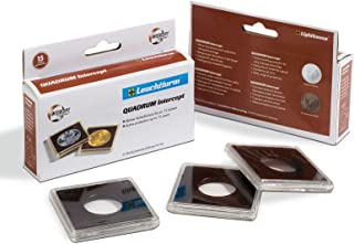 Quadrum INTERCEPT Coin Holders for Large Dollars 38mm by Lighthouse 6 Pack