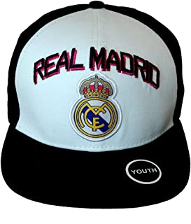 YOUTH KID Size Real Madrid Authentic Official Licensed Soccer Cap One Size -014 (Youth)