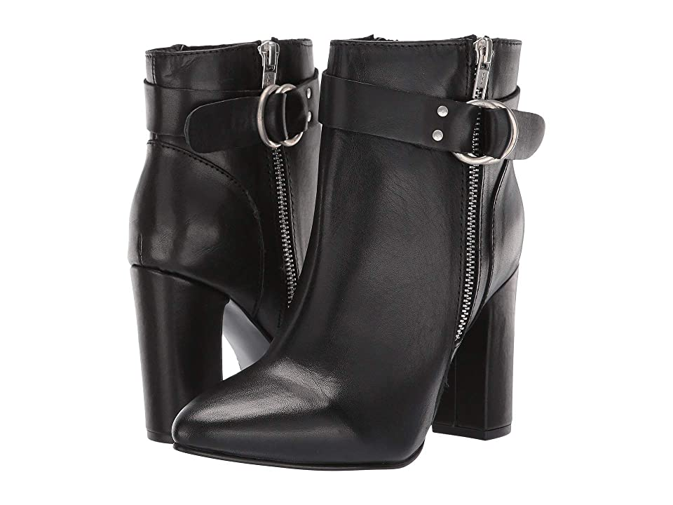 Steve Madden Kalei (Black Leather) Women