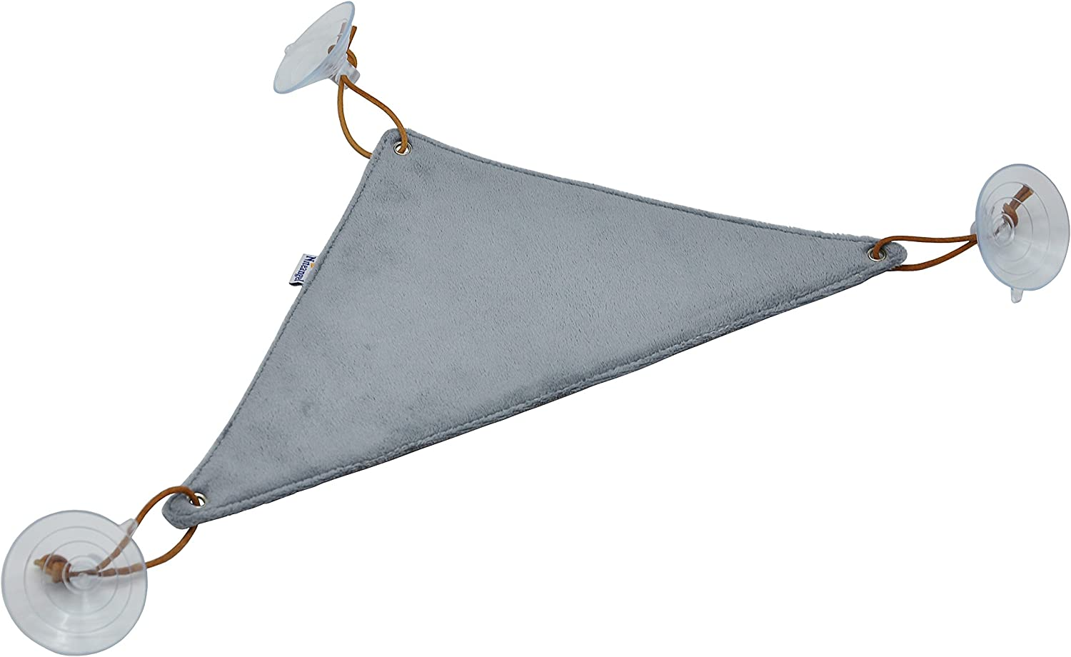 Niteangel Fabric Hammock Lounger for Reptile Bearded Dragons with Suction Cups (15inch)