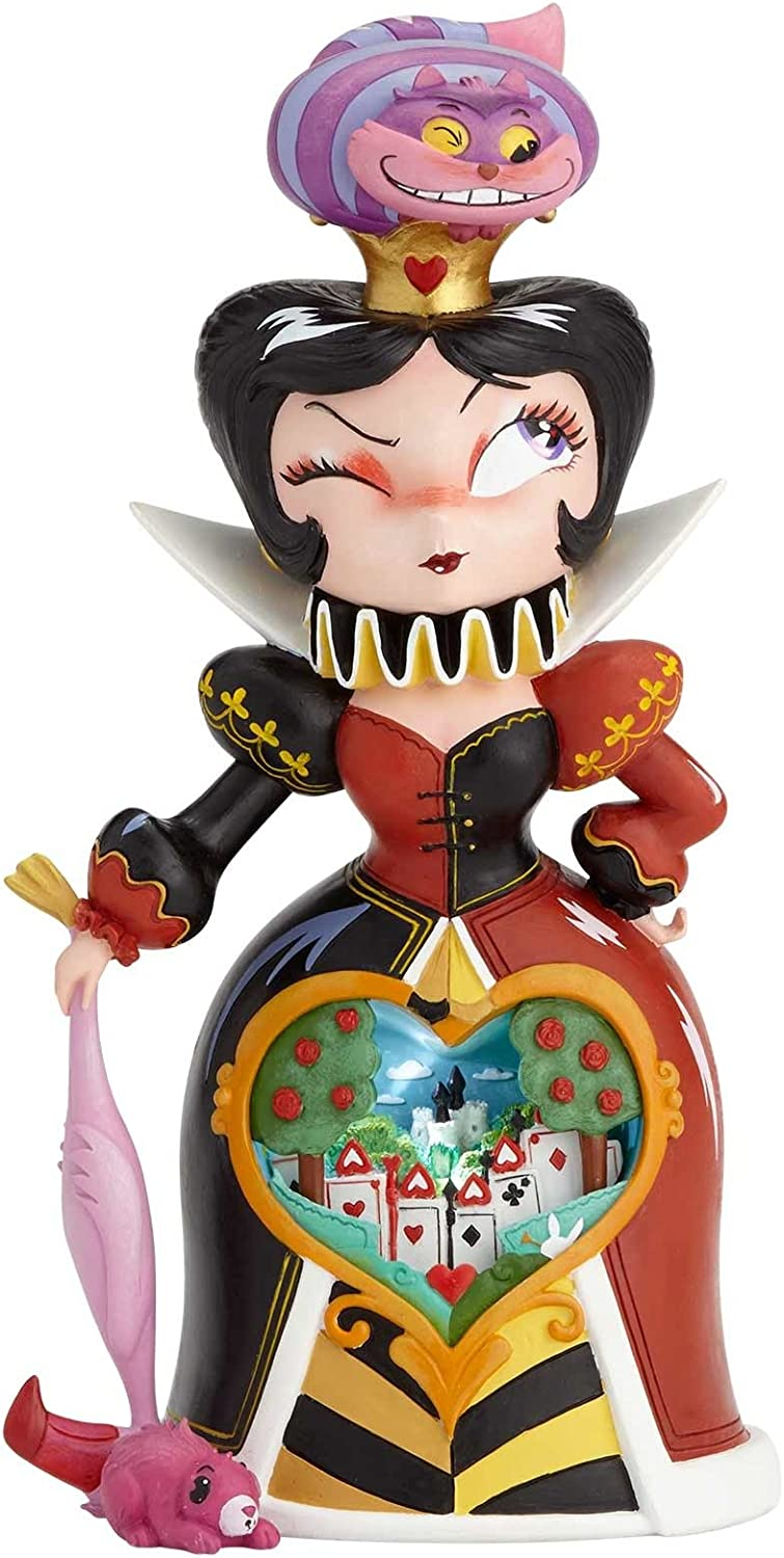 Mindy Queen of Hearts Figurine, Resin, Multi-Colour, 0 1 0 1 x 270