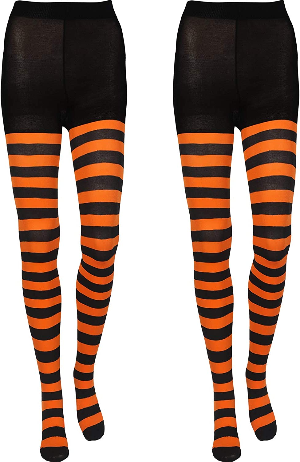 2 Pairs Women's Super Special SALE held Extra Striped Full Stocking Length 2021 autumn and winter new Tights