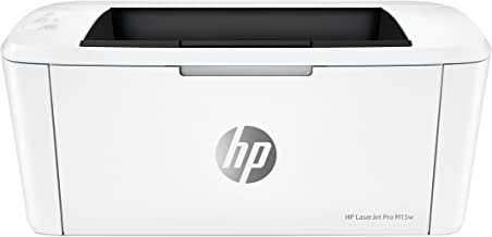 HP LaserJet Pro M15w - Impresora láser (USB 2.0, WiFi, 18 ppm, memoria de 8 MB, Wi-Fi Direct y aplicación HP Smart)