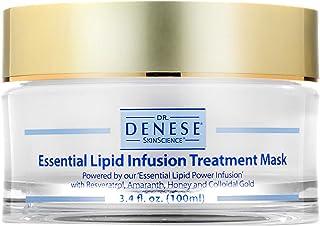 Dr. Denese SkinScience Essential Lipid Infusion Treatment Mask Enhanced Moisture & Hydration with Resveratrol, Amaranth, H...