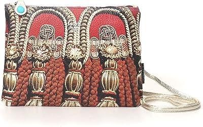 GABS Tasche Beyonce Ruga Kordeln Medium Leder Umhängetasche Made in Italy 28 x 21 cm G40T2 X1672 S0487