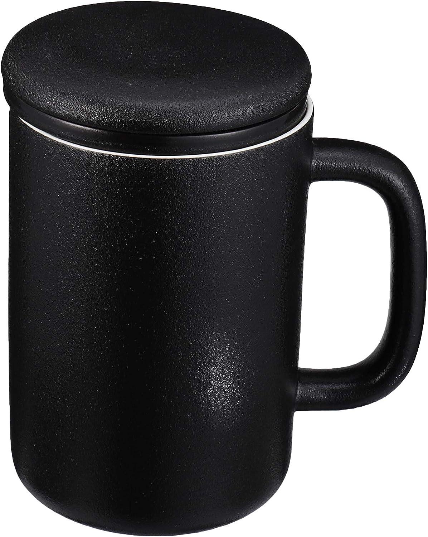 DOITOOL 400ml SALENEW very popular Chic Ceramics Water Cup S Mug Strainer Tea Infuser Seattle Mall