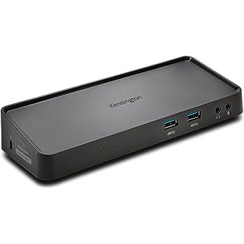 Kensington SD3600 Station D'accueil Double USB 3.0 Universelle pour Windows/Vista/XP/Mac, Noir
