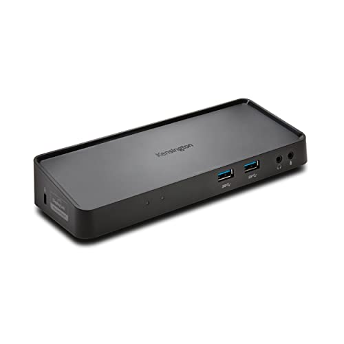 Kensington SD3600 Station D'accueil Double USB 3.0 Universelle pour Windows/Vista/XP/Mac, Noir