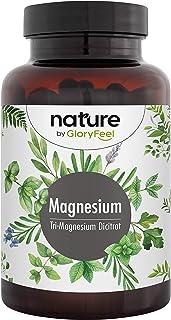 Premium Magnesium Citraat + Vitamine B6 en B12-2580mg zuiver Tri-Magnesium-Di-Citraat - 400mg elementair magnesium per dag...