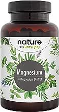 Premium Magnesiumcitrat 2580mg Hochdosiert - 400mg elementares Magnesium Plus Vitamin B12 und B6 je Tagesdosis - 180 vegane Kapseln ohne Zusätze - Hergestellt und laborgeprüft in Deutschland