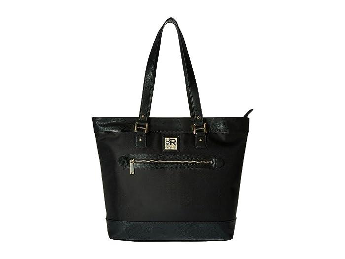 Kenneth Cole Reaction  Call It A Night - Nylon Tote (Black) Tote Handbags