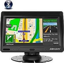 Navegador GPS para Coches y Camión 7 Pulgadas con Bluetooth de Pantalla LCD, con Actualizaciones de Mapas para Toda la Vida